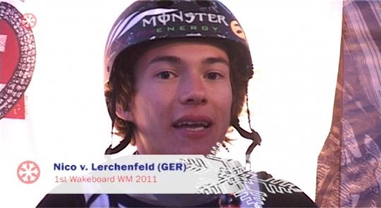 Nico von Lerchenfeld (1st Wakeboard)