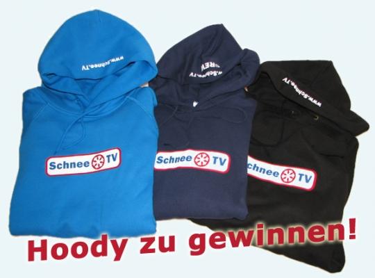 Gewinne Schnee.TV Hoodys