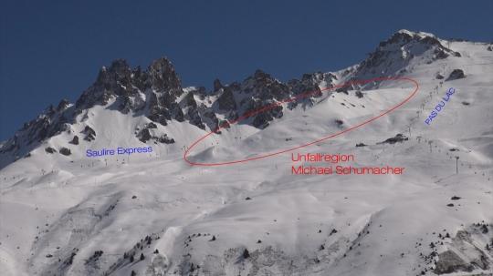Schumacher Skiunfall Piste
